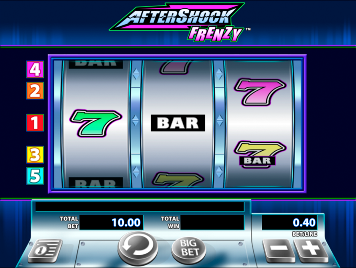 aftershock frenzy wms slot