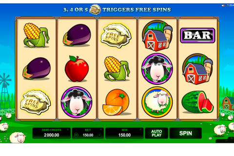 bar bar black sheep  reel microgaming slot