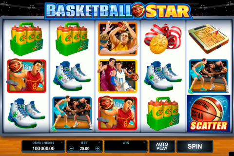 basketball star microgaming slot