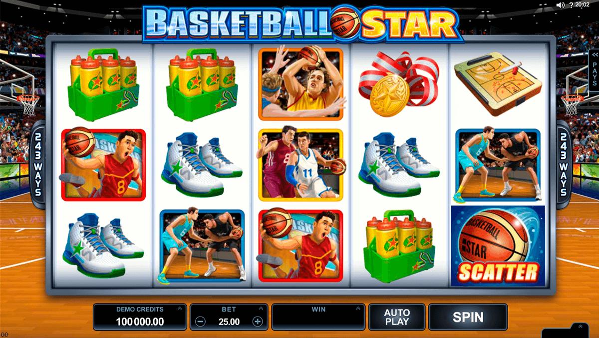 basketball star microgaming slot