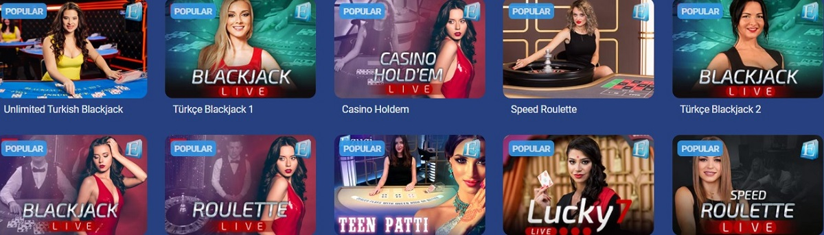 bets724 live casino games