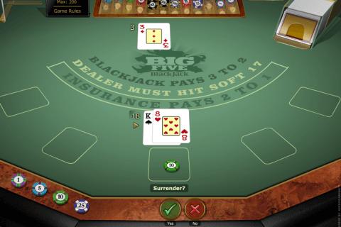 big  blackjack gold microgaming online