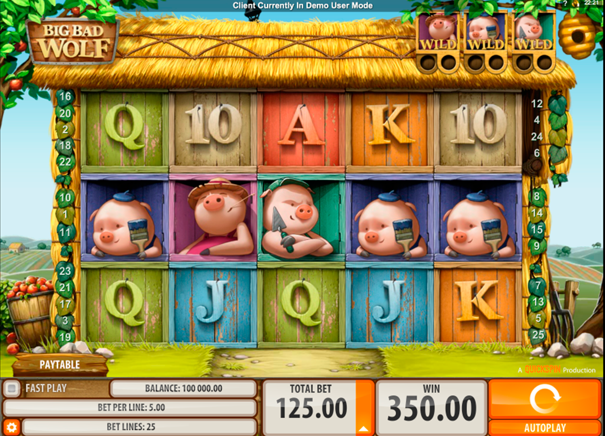 big bad wolf quickspin slot