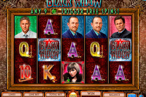 black widow igt slot