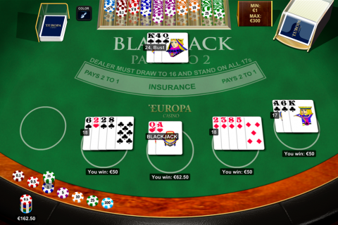 blackjack multihand  playtech online