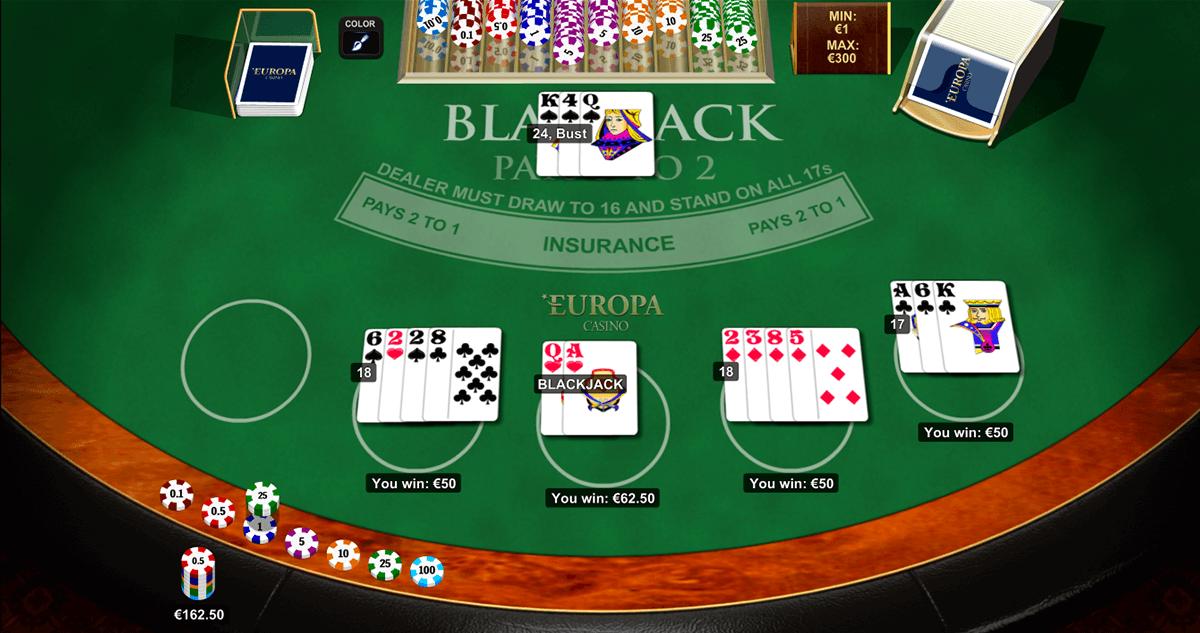blackjack multihand 5 playtech online