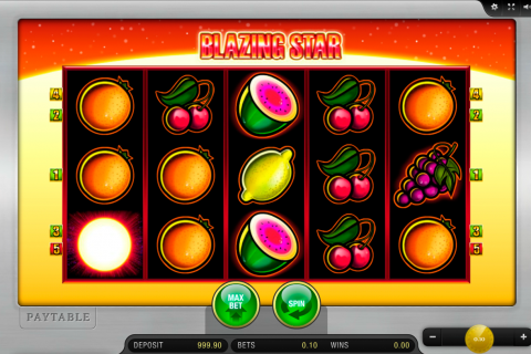 blazing star merkur slot