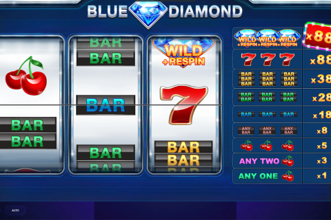 blue diamond red tiger slot