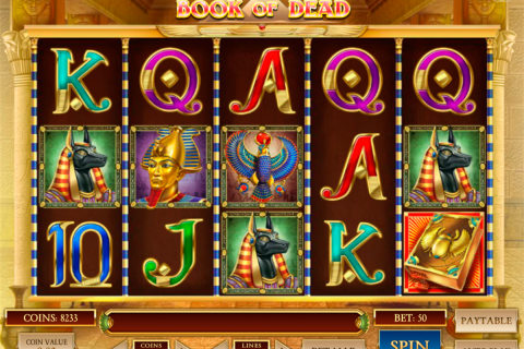 book of dead playn go slot