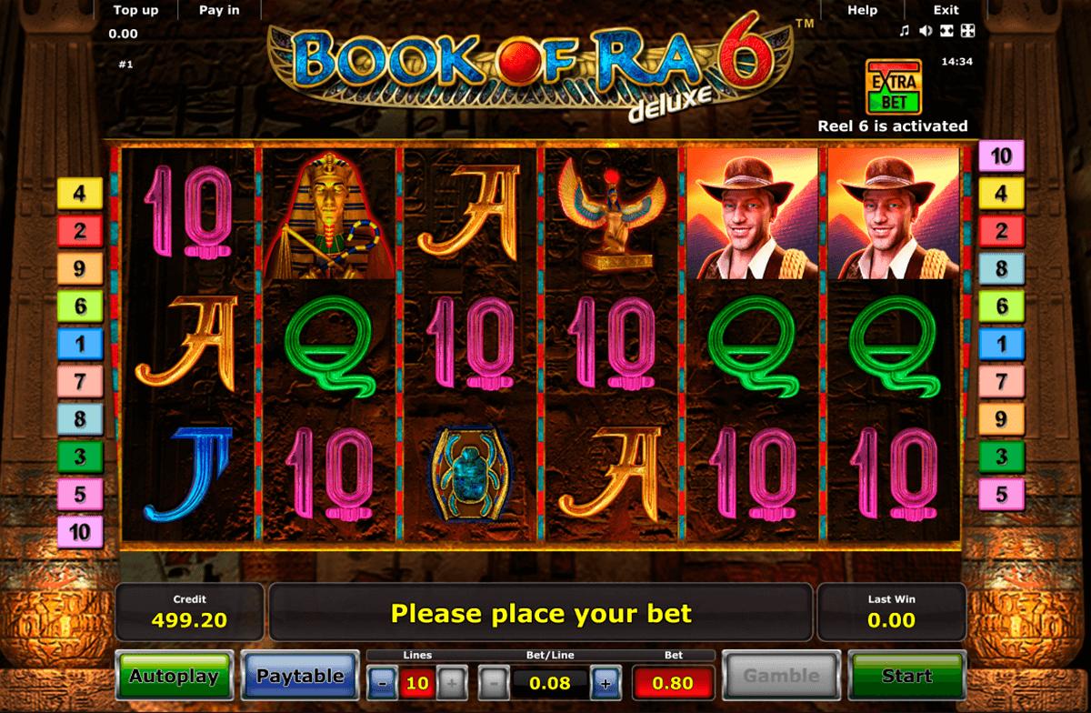book of ra 6 novomatic slot