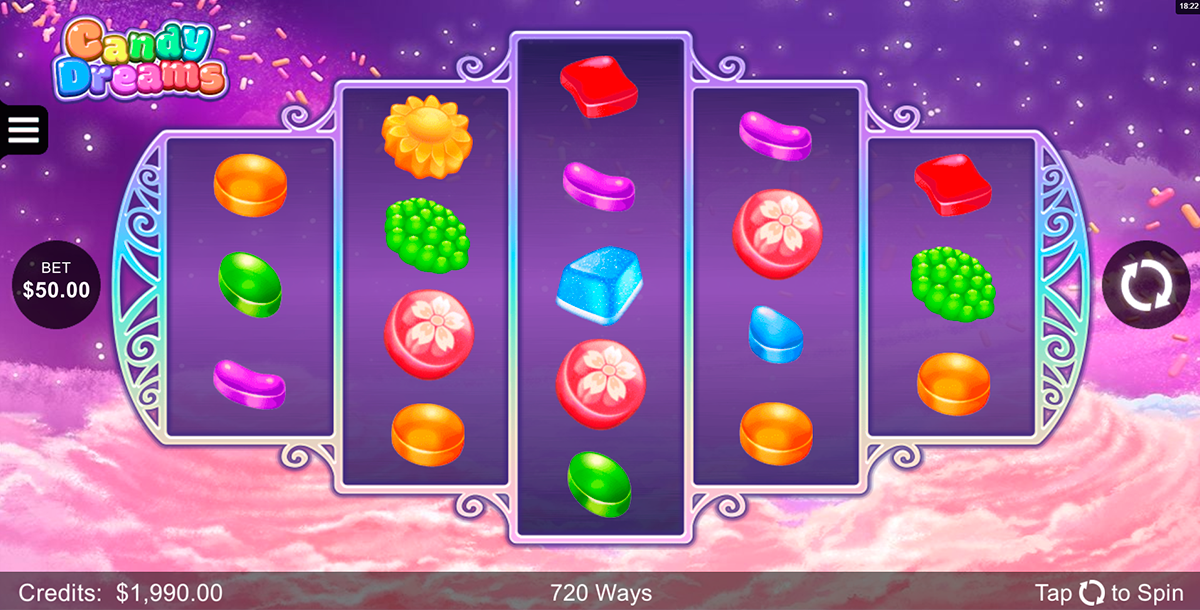 candy dreams microgaming slot