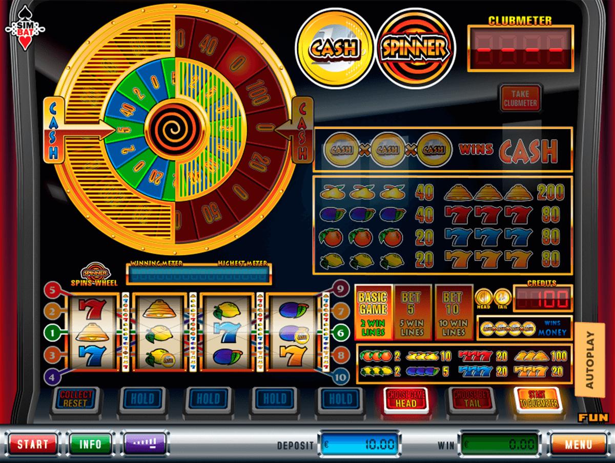 cash spinner simbat slot