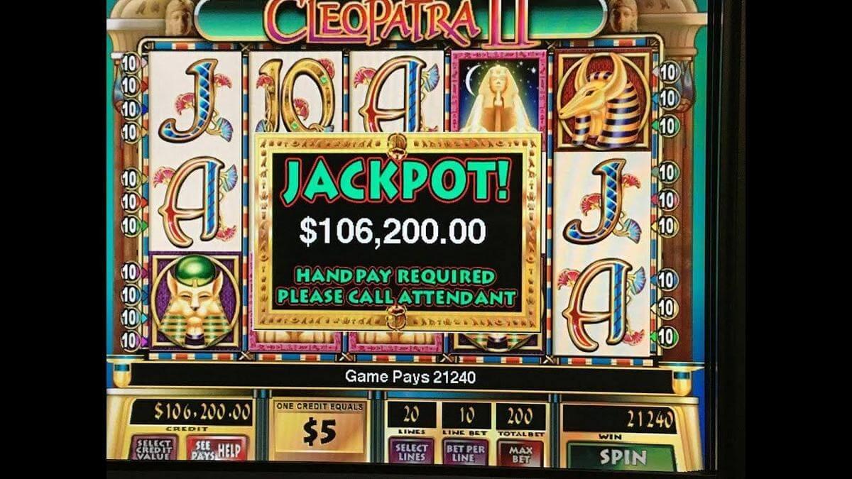 cleopatra ii slot jackpot