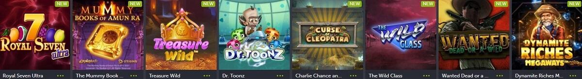 comeon casino slots
