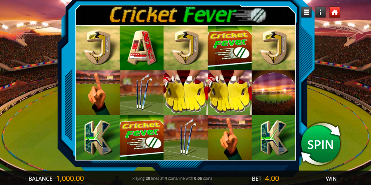 cricket fever genii slot