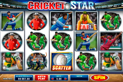 cricket star microgaming slot
