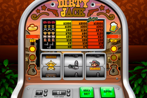 dirty jack pariplay slot