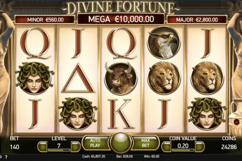 divine fortune netent slot