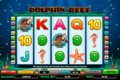 dolphin reef netgen gaming slot