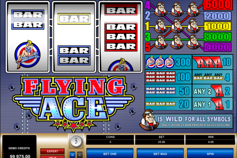 flying ace microgaming slot