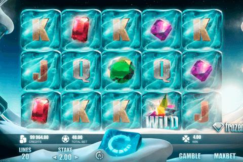 frozen diamonds rabcat slot