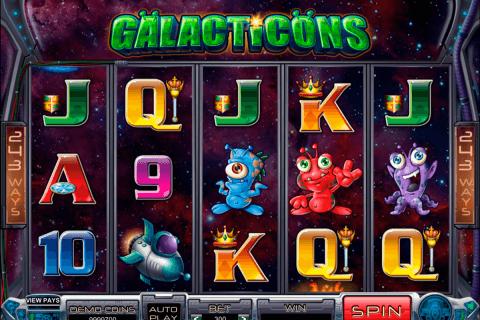 galacticons microgaming slot