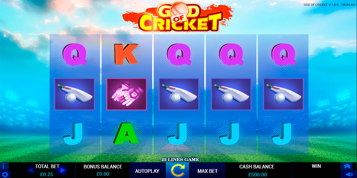 god of cricket reelfeel gaming slot