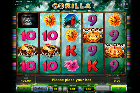 gorilla novomatic slot