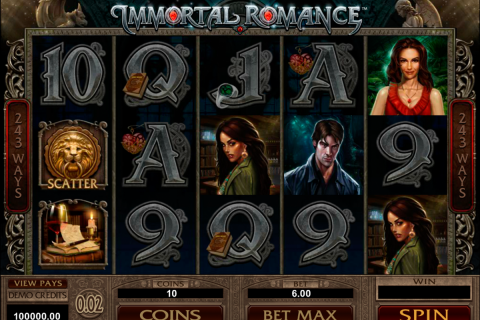 immortal romance microgaming slot