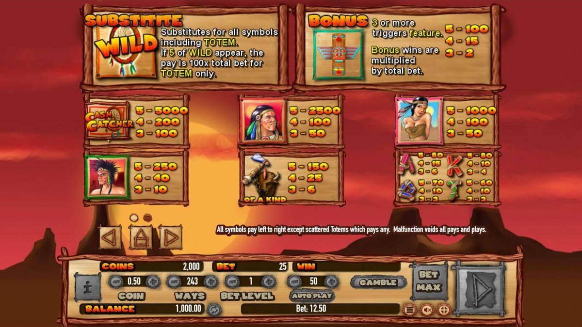 indian cash catcher features