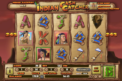 indian cash catcher habanero slot