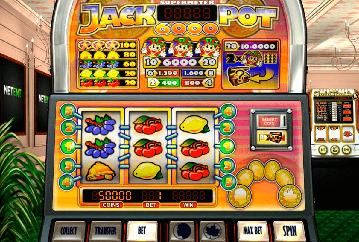 jackpot 6000 netent slot