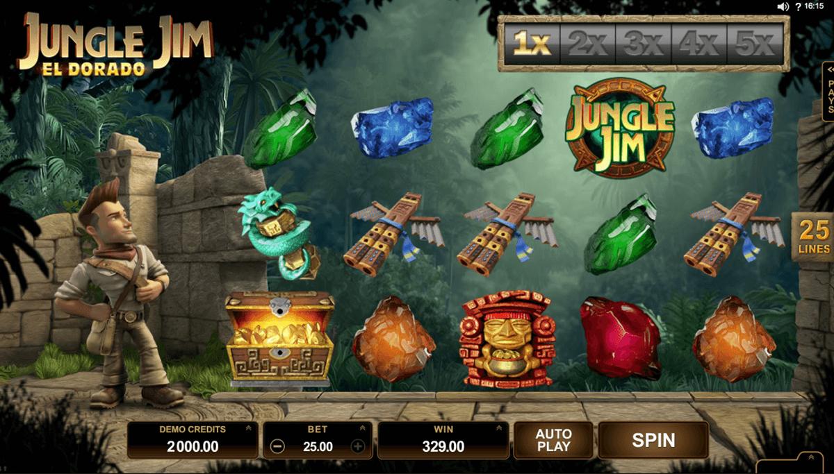 jungle jim el dorado microgaming slot