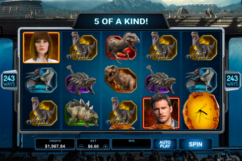 jurassic world microgaming slot