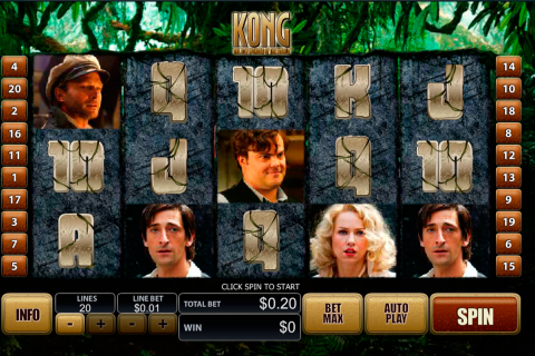 king kong playtech slot