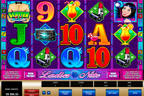 ladies nite microgaming slot