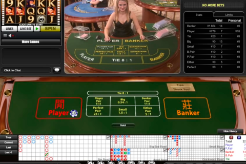 live mini baccarat playtech online