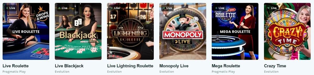 lucky days live casino