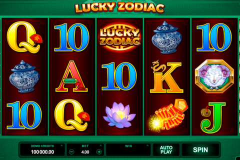 lucky zodiac microgaming slot
