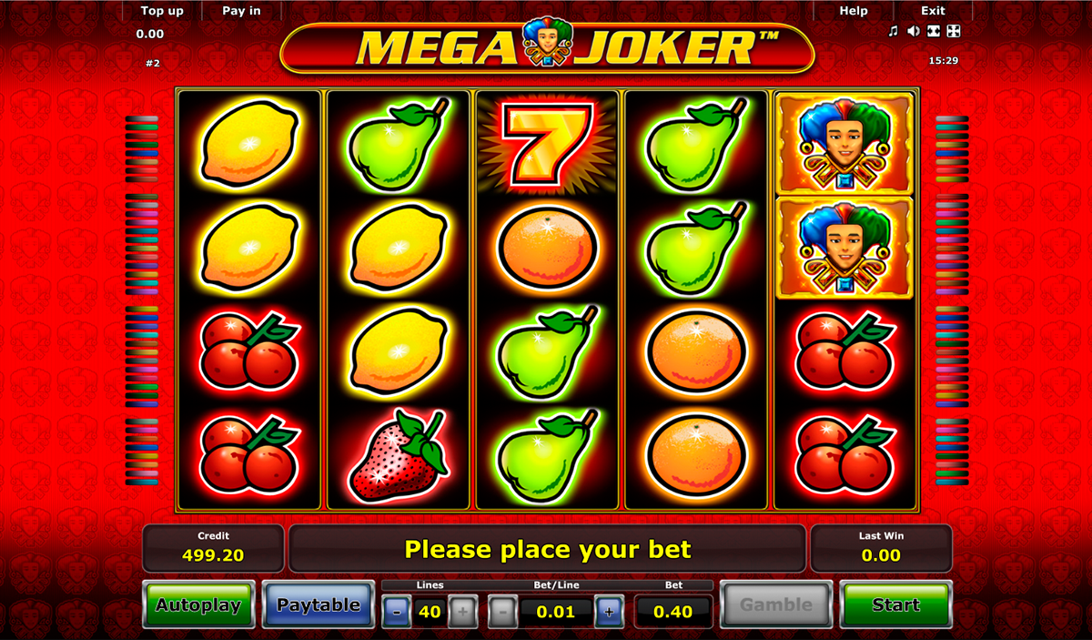Free Mega Joker Slot Game