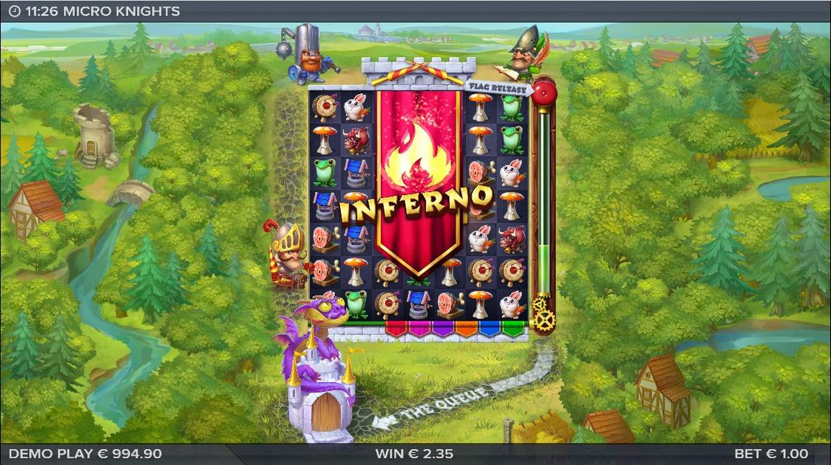 micro knights inferno feature