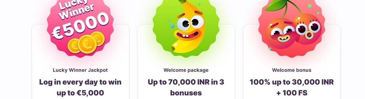 nomini welcome bonuses