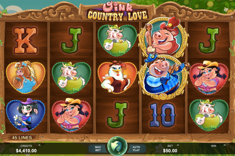 oink country love microgaming slot
