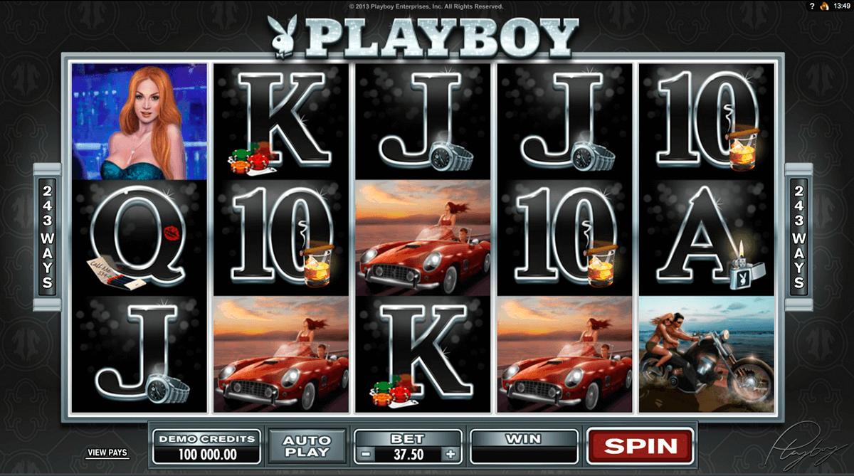 playboy microgaming slot