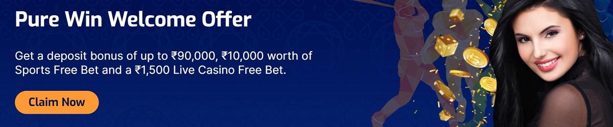 purewin casino bonus