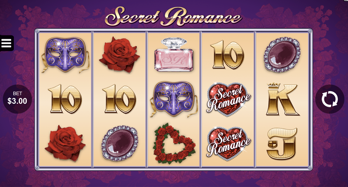 secret romance microgaming slot