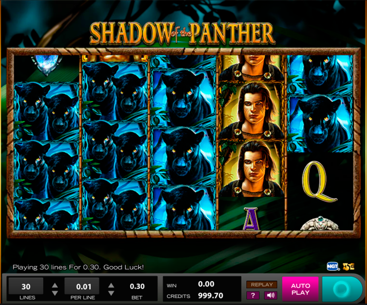 shadow of the panther high5 slot