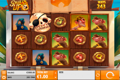 skulls up quickspin slot