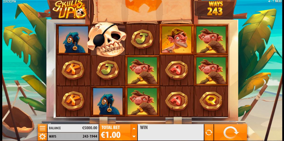 skulls up quickspin slot
