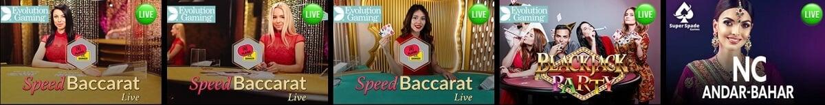 slotking live dealer casino games